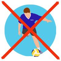 prendre soin du matériel de volley